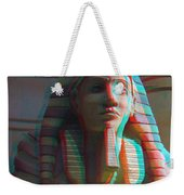 Sphinx - Use Red-cyan 3d Glasses Weekender Tote Bag