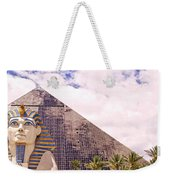 Sphinx Clouds Weekender Tote Bag