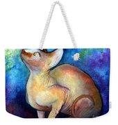 Sphynx Cat 5 Painting Weekender Tote Bag