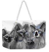 Sphynx Group No 02 Weekender Tote Bag
