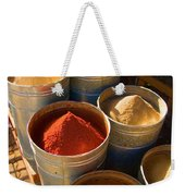 Spices In Marrakesh Morroco Weekender Tote Bag
