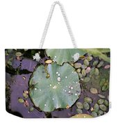Spider And Lillypad Weekender Tote Bag