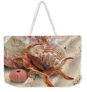 Spider Conch Shell On The Beach Weekender Tote Bag