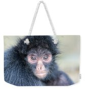 Spider Monkey Face Weekender Tote Bag