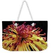 Spider Chrysanthemum Weekender Tote Bag