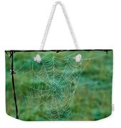Spider Web In The Springtime Weekender Tote Bag