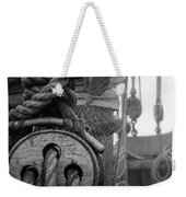 Spider Web Morning  Weekender Tote Bag
