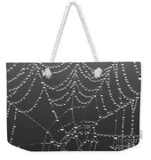 Spider Web Patterns Weekender Tote Bag
