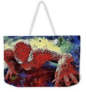 Spiderman Climbing  Weekender Tote Bag