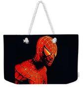 Spiderman Weekender Tote Bag by Paul Meijering