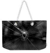 Spiderweb Weekender Tote Bag
