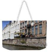 Spieglerei Canal In Bruges Belgium Weekender Tote Bag