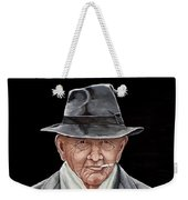 Spiffy Old Man Weekender Tote Bag