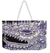 Spike Dragon Weekender Tote Bag