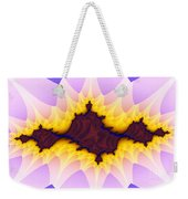 Spikey Flower Weekender Tote Bag