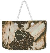 Spilling The Beans Weekender Tote Bag