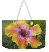 Spin The Bottle Hibiscus Weekender Tote Bag