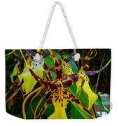 Spindly Orchid Weekender Tote Bag