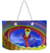 Spinning Fair Ride Weekender Tote Bag