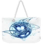 Spinning Into Place Weekender Tote Bag