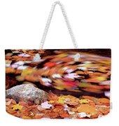Spinning Leaves Of Autumn Weekender Tote Bag