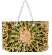 Spiny Cactus Needles Weekender Tote Bag