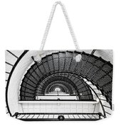 Spiral Ascent Weekender Tote Bag