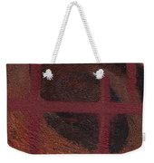 Spiral Browns Painting Weekender Tote Bag