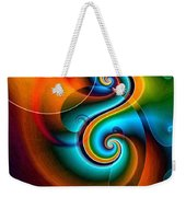 Spiral Composition 8 Weekender Tote Bag