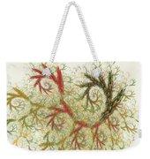 Spiral Embroidery Weekender Tote Bag