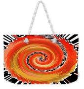 Spiral Of Fire Weekender Tote Bag