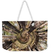 Spiral Of Forest Weekender Tote Bag
