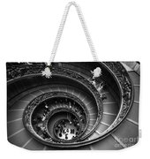 Spiral Stairs Horizontal Weekender Tote Bag by Stefano Senise