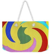 Spiral Three Weekender Tote Bag