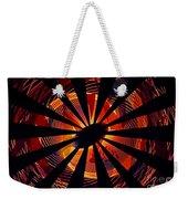 Spiral To Infinity Weekender Tote Bag