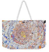 Spiral Vibrations And Movement Weekender Tote Bag
