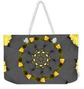 Spiraling Gerberas Weekender Tote Bag