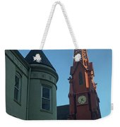 Spire Of Chinatown Weekender Tote Bag