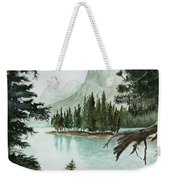 Spirit Lake Weekender Tote Bag