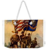 Spirit Of 1917 - Join The Us Marines  Weekender Tote Bag by War Is Hell Store