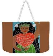 Spirit Of Aloha Weekender Tote Bag