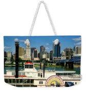 Spirit Of America And Cincinnati  Weekender Tote Bag