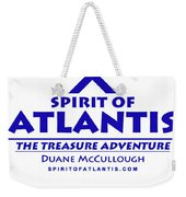 Spirit Of Atlantis Logo Weekender Tote Bag