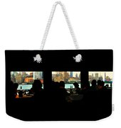 Spirit Of New York Weekender Tote Bag
