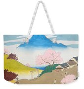 Spirit Of Shinto And Ukiyo-e In The Light Of Nature Weekender Tote Bag