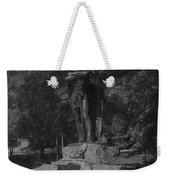 Spirit Of The Confederacy Black And White Weekender Tote Bag