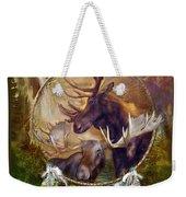 Spirit Of The Moose Weekender Tote Bag