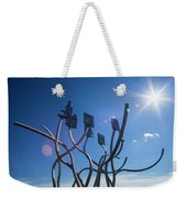 Spirit Of The Staithes Weekender Tote Bag