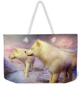 Spirit Of The White Wolf Weekender Tote Bag