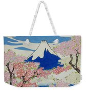 Spirit Of Ukiyo-e Illuminated By Stunning Nature Weekender Tote Bag